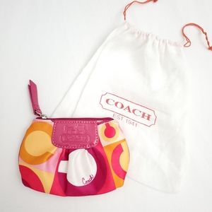 COACH Small Coin Purse with Key Ring Holder